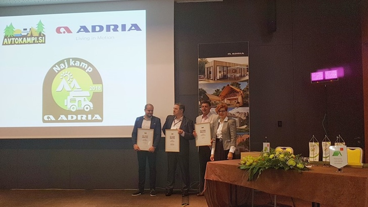 Congress of the Croatian Camping Union – Jadranka Group campsites awarded again in 2018