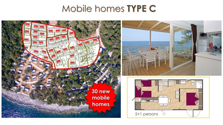 30 new mobile homes Type C