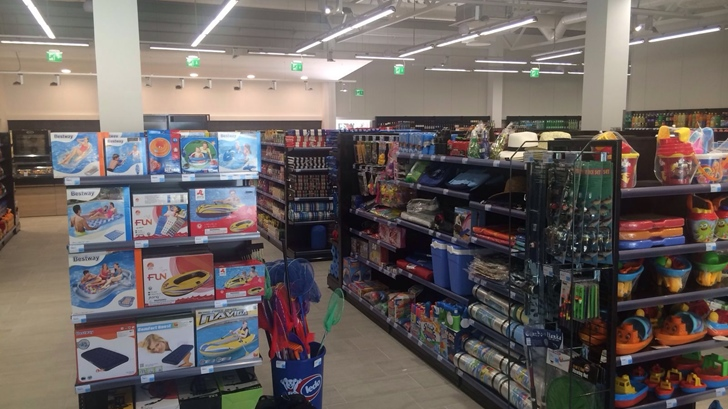 New grocery store in Baldarin Campsite & other investments