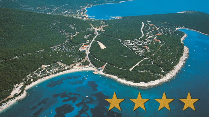 Campsite Slatina awarded with four stars