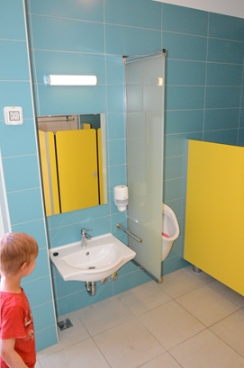 Children's bathroom in Slatina