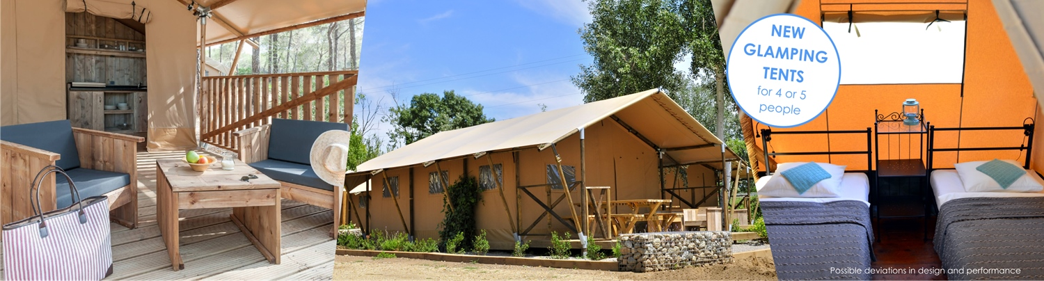 NEW Glamping tents in campsite Baldarin – from 30 EUR/day