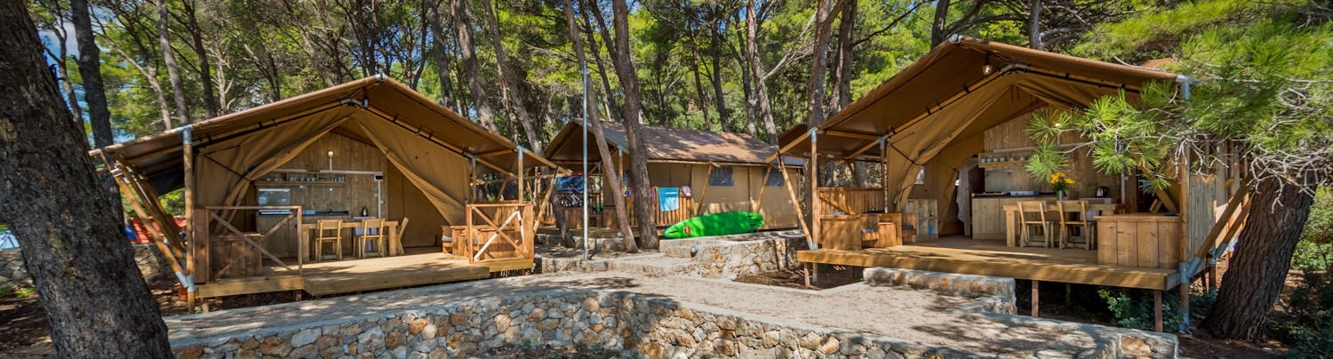 NEW Glamping tents in campsite Baldarin – from 33 EUR/day